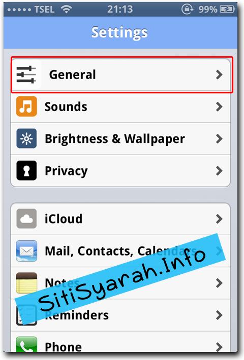 cara Format iPhone 4S
