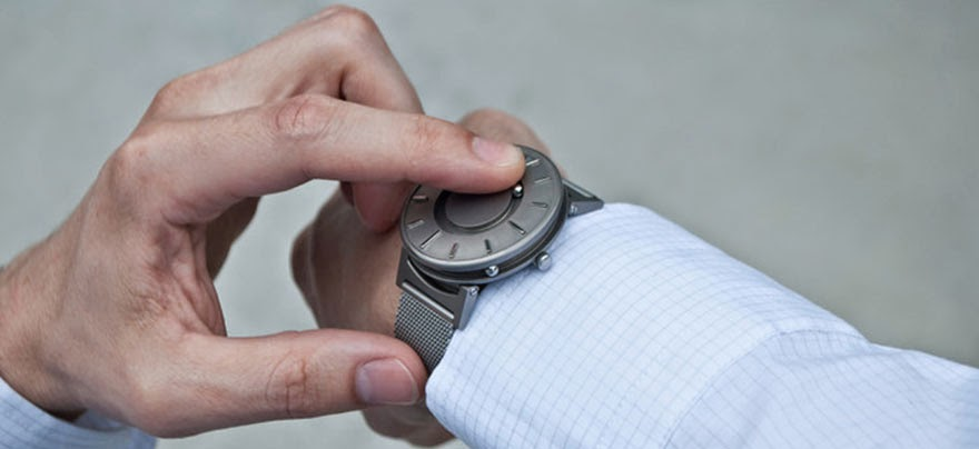 24 Of The Most Creative Watches Ever - The Bradley – A Timepiece Designed For The Blind