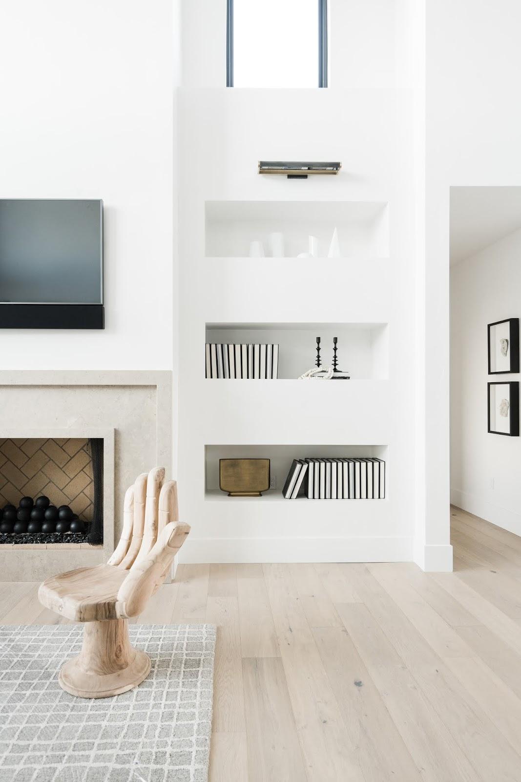 Built In Shelves, Family Room Ideas