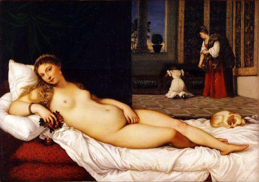 Titian: La Venere d'Urbino