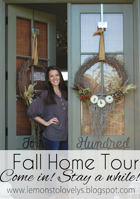 Fall Home Tour on the blog. Tap to see
