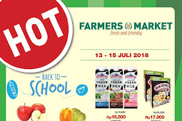 Katalog Promo Farmers Market Weekend Terbaru 13 - 15 Juli 2018