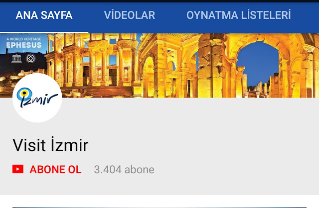 İzmir YouTube Kanalı, İzmir Tanıtım, İzmir Tanıtım Videosu