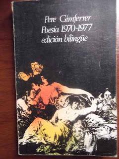 Poesia 1970-1977 / Pere Gimferrer