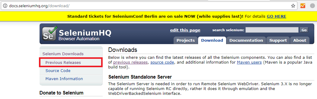 selenium configuration with eclipse steps
