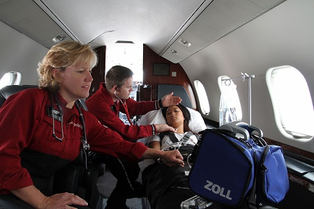 Duties of a flight nurse