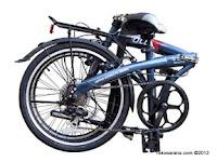 20 Inch FoldX Nagoya 7 Speed Shimano Folding Bike