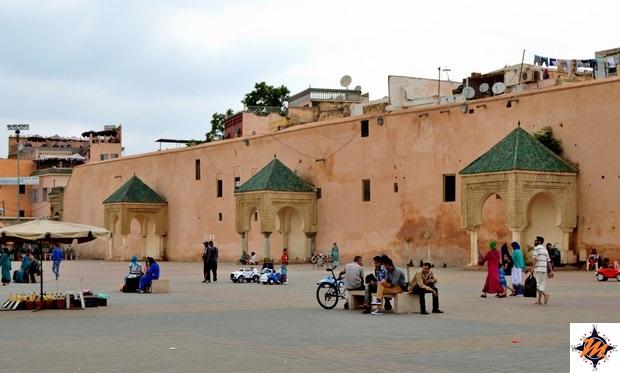 Meknes, Place El Hedim
