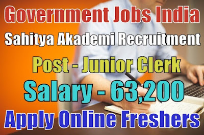 Sahitya Akademi Recruitment 2019