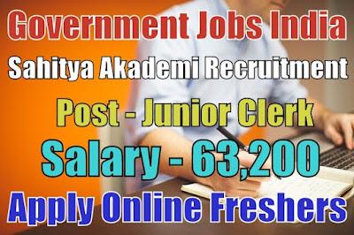 Sahitya Akademi Recruitment 2018