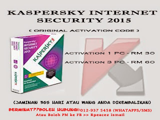 Promo Kaspesky Internet Security