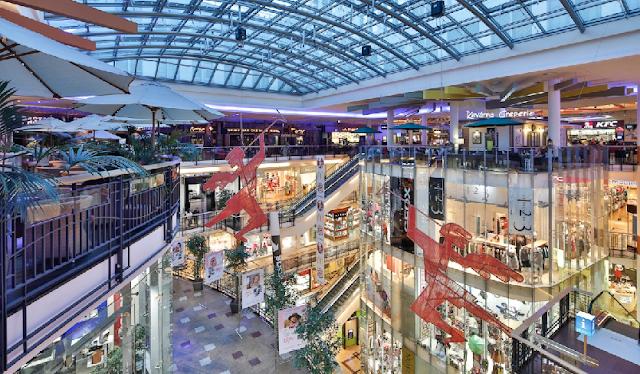 Shopping Palladium em Praga