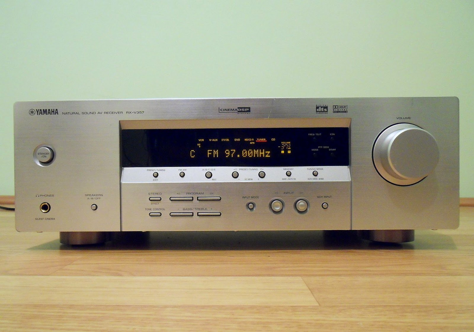 yamaha rx v357 av receiver audiobaza. Black Bedroom Furniture Sets. Home Design Ideas