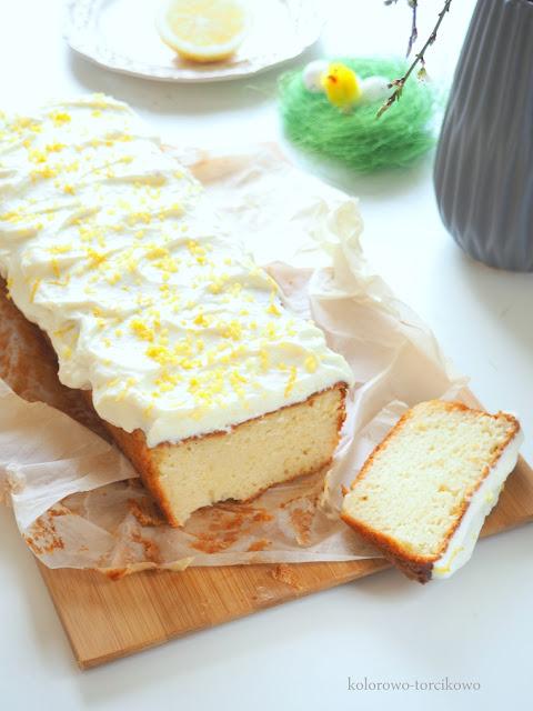Cytrynowe ciasto jogurtowe ( łatwe )