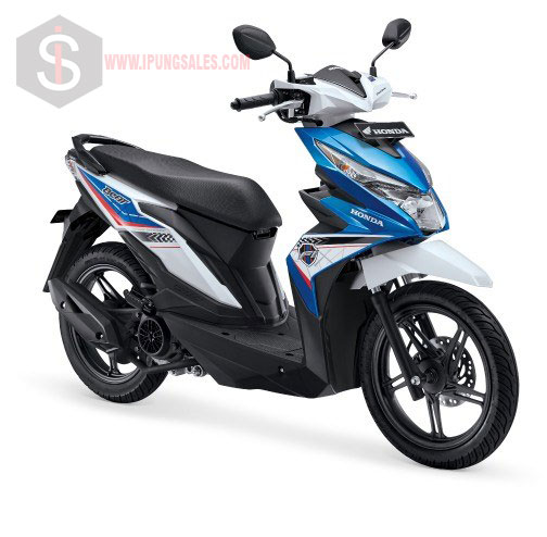 Honda BeaT eSP CBS Techno Blue White