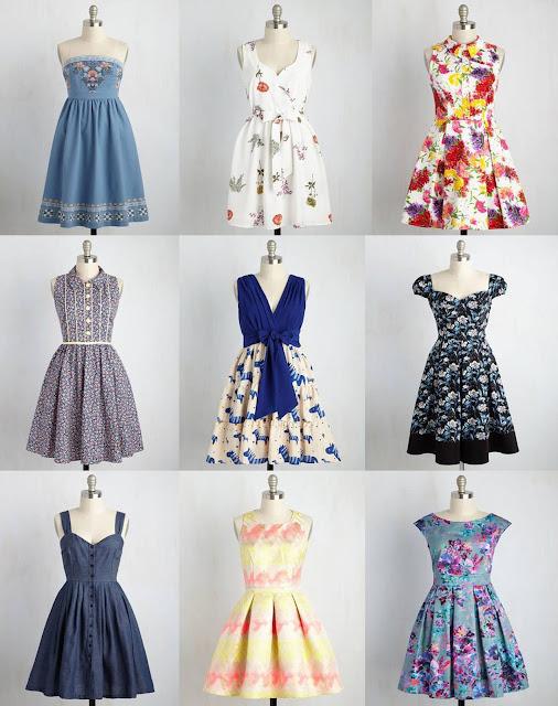 Loja ModCloth Vestidos