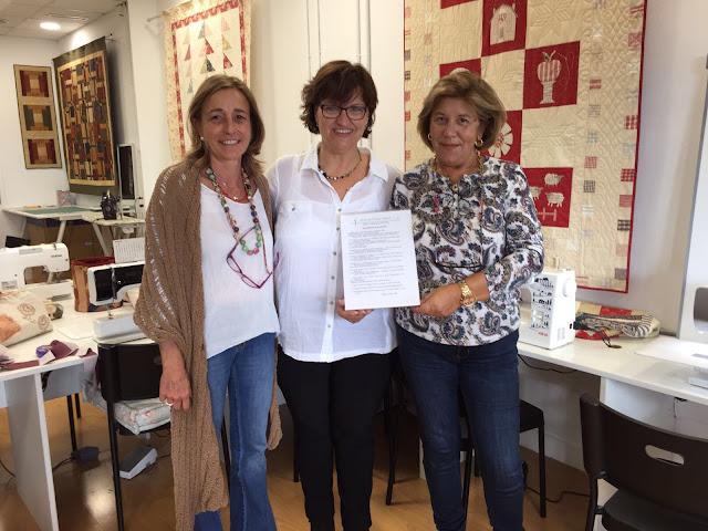 Curso de costura de Montse Forcadell en La Tertulia