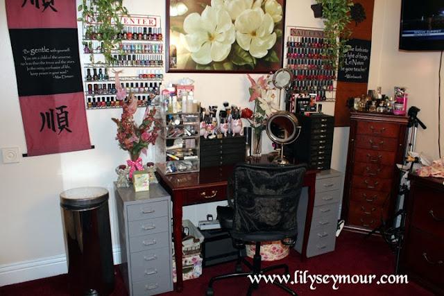 Makeup Organization and Storage