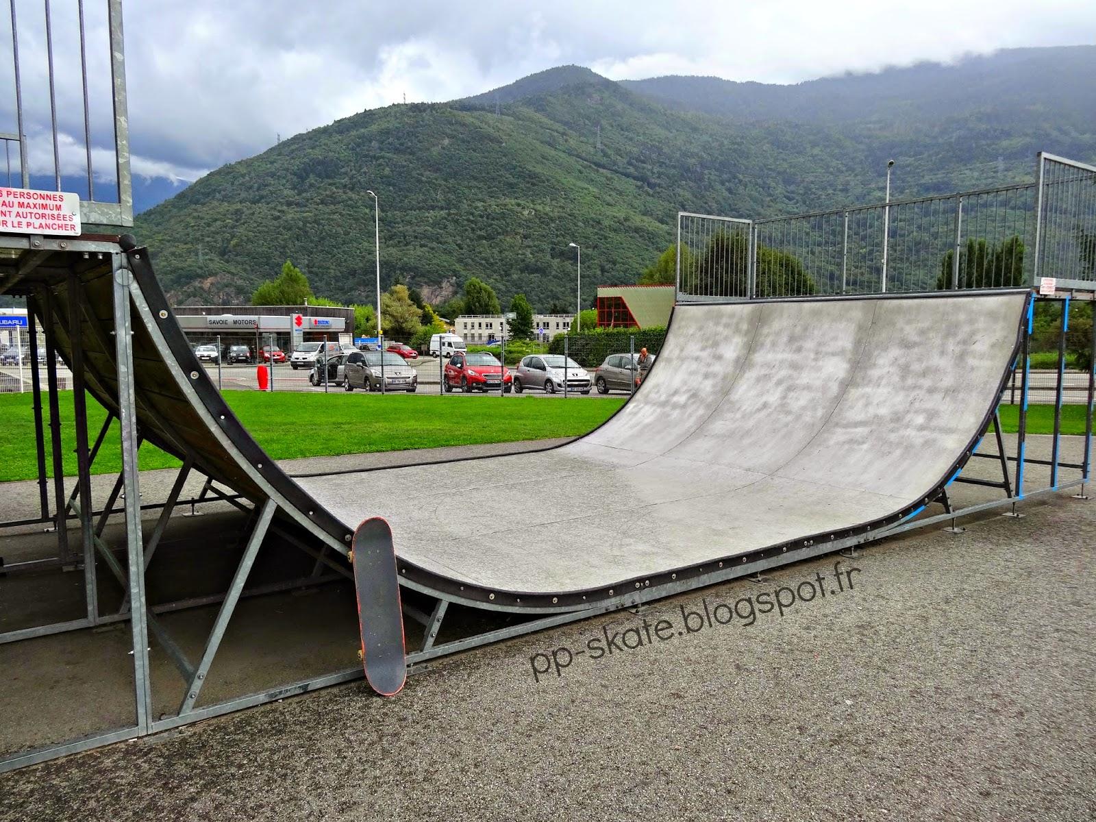 skatepark albertville rampe