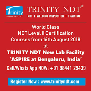 NDT Level II Certification Courses - August 2018