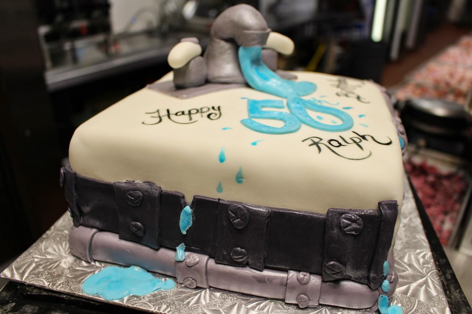 Morgie S Sweet Treats Plumber 50th Birthday Cake