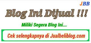 blog ini di jual murah