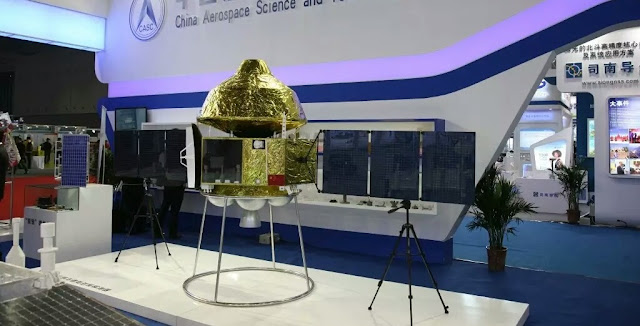 A model of the Chinese Mars mission. Photo Credit: News.cn