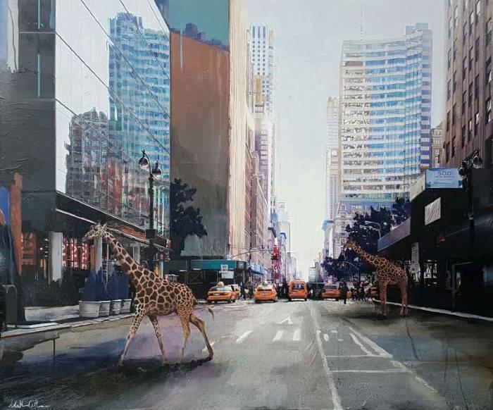 Итальянский художник. Matteo Cattonar