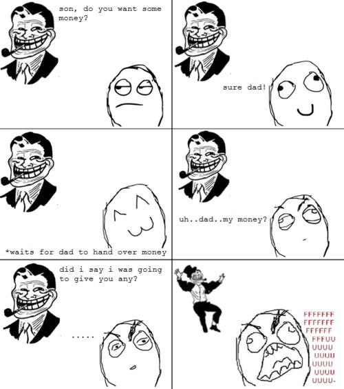 father son Father-Day-Trolls