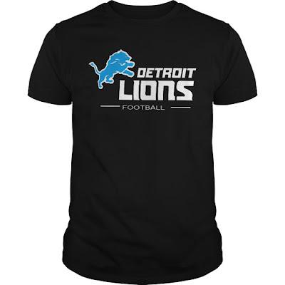 Detroit Lions Football T Shirts Hoodie