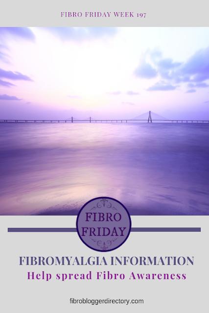 Fibro Friday link up for Fibro articles