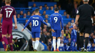 Sport: Chelsea vs Manchester City -  Conte speaks on Morata's injury