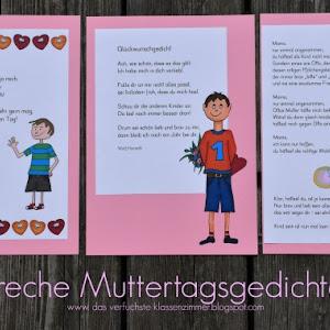 Gedichtekartei Fur Muttertag Und Vatertag Das Verfuchste