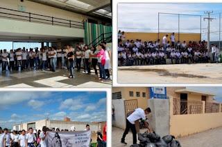 Campus do IFPB participa de arrastão contra o Aedes Aegypti