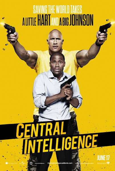 Poster Of Central Intelligence 2016 480p HDTS Full Movie Download