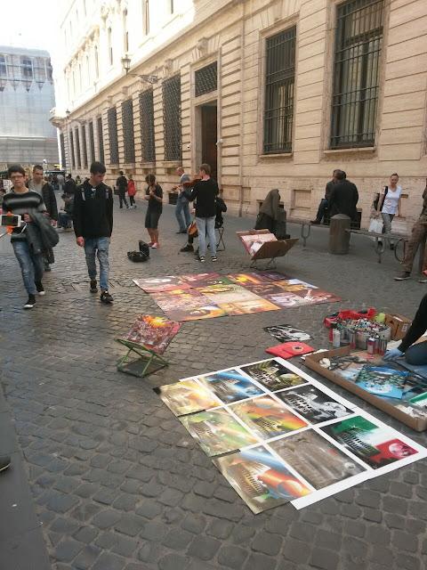 İtalya Sokak Satıcıları