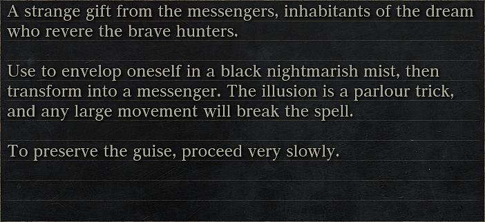 Messenger's Gift | Bloodborne Wiki