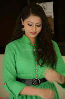 Geethanjali in Green Dress at Mixture Potlam Movie Pressmeet March 2017 055.JPG