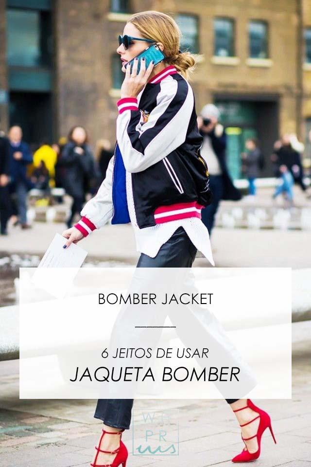 BOMBER JACKET | 6 JEITOS DE USAR JAQUETA BOMBER