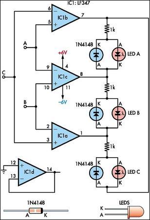Indicator Circuit Diagram