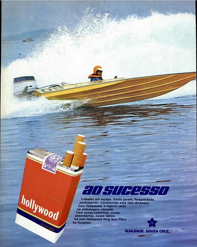 1977. propaganda cigarros anos 70.  propaganda anos 70; história decada de 70; reclame anos 70.  Brazil in the 70s; Oswaldo Hernandez;