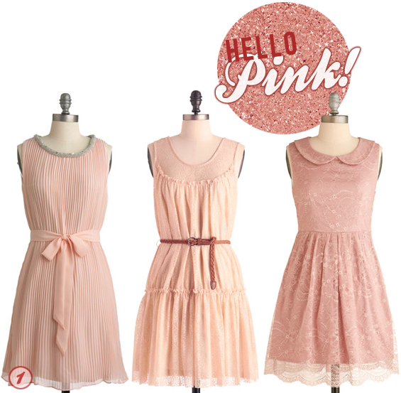 Modcloth Home Decor: Bubby And Bean ::: Living Creatively: Hello, Pink