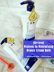 Review Watsons So Moisturising Beauty Cream Bath