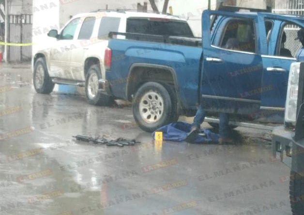 Reynosa, emboscan a policías estatales, sicarios huyen y aseguran inmueble
