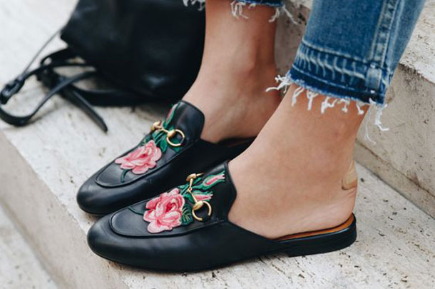 babouche, mules, street style, come indossare le babouche