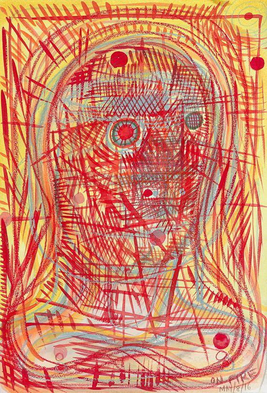 Nicole Eisenman, drawing, drawings and notes, contemporary drawing