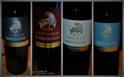 vini grifalco aglianico vulture