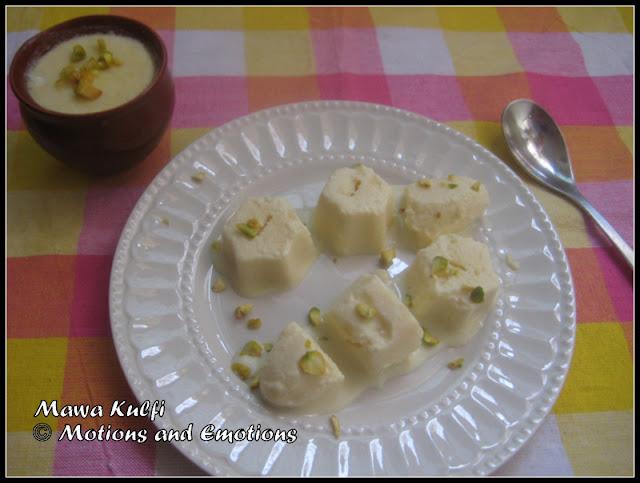 Mawa Kulfi / Khoya Kulfi