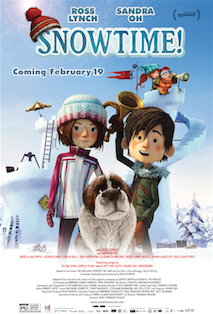 snowtime movie poster