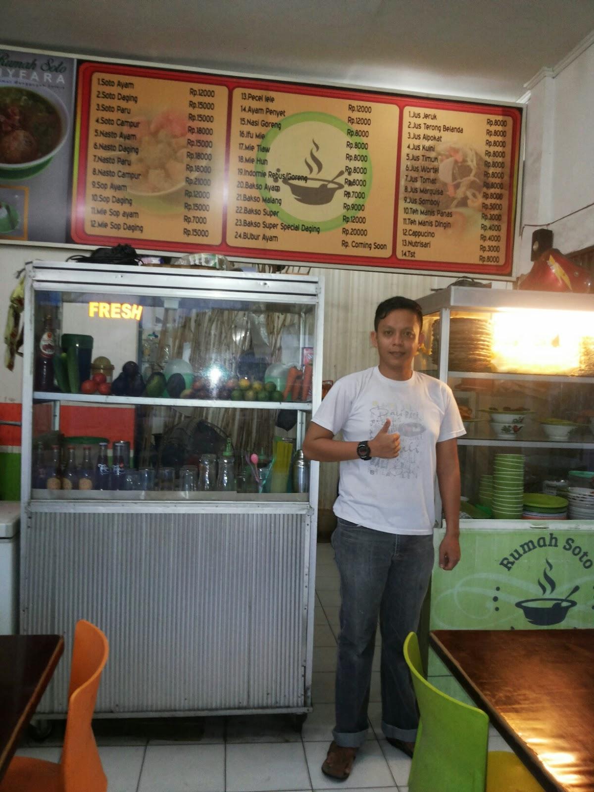 Fajri Siregar, Owner Dari Rumah Soto Nyfara